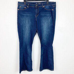 Source of Wisdom Slim Boot Jeans Denim Torrid